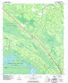 Download a high-resolution, GPS-compatible USGS topo map for Fort Mudge, GA (1994 edition)