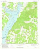 Download a high-resolution, GPS-compatible USGS topo map for Georgetown, GA (1981 edition)