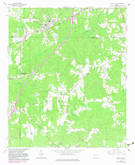 Download a high-resolution, GPS-compatible USGS topo map for Grantville, GA (1983 edition)