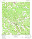 Download a high-resolution, GPS-compatible USGS topo map for Harlem, GA (1980 edition)