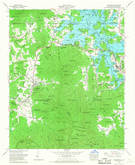 Download a high-resolution, GPS-compatible USGS topo map for Hiawassee, GA (1968 edition)
