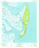 Download a high-resolution, GPS-compatible USGS topo map for Jekyll Island, GA (1959 edition)