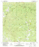 Download a high-resolution, GPS-compatible USGS topo map for Neels Gap, GA (1988 edition)