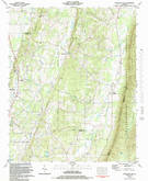 Download a high-resolution, GPS-compatible USGS topo map for Nickajack Gap, GA (1984 edition)