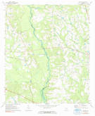 Download a high-resolution, GPS-compatible USGS topo map for Ohoopee, GA (1991 edition)