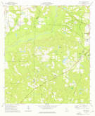 Download a high-resolution, GPS-compatible USGS topo map for Pine Park, GA (1976 edition)