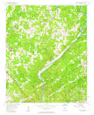 Download a high-resolution, GPS-compatible USGS topo map for Sandy Springs, GA (1964 edition)