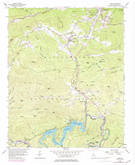 Download a high-resolution, GPS-compatible USGS topo map for Tiger, GA (1984 edition)