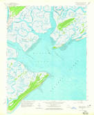 Download a high-resolution, GPS-compatible USGS topo map for Wassaw Sound, GA (1965 edition)