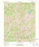 Download a high-resolution, GPS-compatible USGS topo map for Ashbrook, KY (1976 edition)