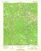 Download a high-resolution, GPS-compatible USGS topo map for Barthell, KY (1968 edition)