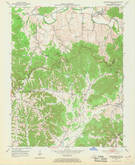 Download a high-resolution, GPS-compatible USGS topo map for Bradfordsville, KY (1969 edition)