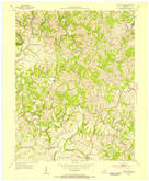 Download a high-resolution, GPS-compatible USGS topo map for Brush Grove, KY (1954 edition)