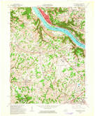 Download a high-resolution, GPS-compatible USGS topo map for Burlington, KY (1963 edition)