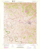 Download a high-resolution, GPS-compatible USGS topo map for Carlisle, KY (1979 edition)