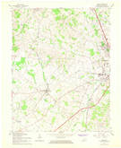 Download a high-resolution, GPS-compatible USGS topo map for Cecilia, KY (1968 edition)