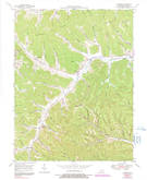 Download a high-resolution, GPS-compatible USGS topo map for Charters, KY (1991 edition)