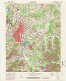 Download a high-resolution, GPS-compatible USGS topo map for Corbin, KY (1989 edition)