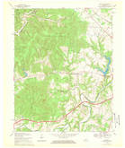 Download a high-resolution, GPS-compatible USGS topo map for Cravens, KY (1969 edition)