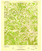 Download a high-resolution, GPS-compatible USGS topo map for Cub Run, KY (1955 edition)