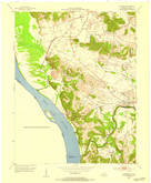 Download a high-resolution, GPS-compatible USGS topo map for Dekoven, KY (1954 edition)