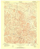 Download a high-resolution, GPS-compatible USGS topo map for Dixon, KY (1951 edition)