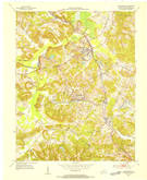 Download a high-resolution, GPS-compatible USGS topo map for Drakesboro, KY (1954 edition)