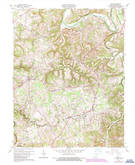 Download a high-resolution, GPS-compatible USGS topo map for Exie, KY (1987 edition)