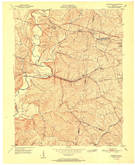 Download a high-resolution, GPS-compatible USGS topo map for Fisherville, KY (1951 edition)