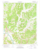 Download a high-resolution, GPS-compatible USGS topo map for Flener, KY (1974 edition)