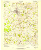 Download a high-resolution, GPS-compatible USGS topo map for Franklin, KY (1952 edition)