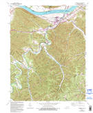 Download a high-resolution, GPS-compatible USGS topo map for Garrison, KY (1995 edition)