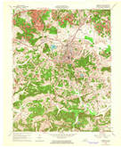 Download a high-resolution, GPS-compatible USGS topo map for Greenville, KY (1964 edition)