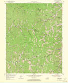 Download a high-resolution, GPS-compatible USGS topo map for Handshoe, KY (1971 edition)