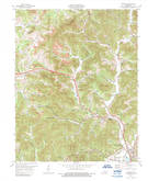 Download a high-resolution, GPS-compatible USGS topo map for Heidrick, KY (1989 edition)
