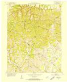 Download a high-resolution, GPS-compatible USGS topo map for Hibernia, KY (1954 edition)