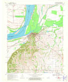 Download a high-resolution, GPS-compatible USGS topo map for Hickman, KY (1972 edition)