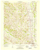 Download a high-resolution, GPS-compatible USGS topo map for Hickory, KY (1956 edition)