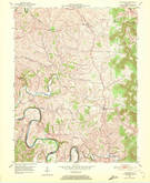 Download a high-resolution, GPS-compatible USGS topo map for Hillsboro, KY (1972 edition)
