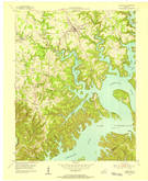 Download a high-resolution, GPS-compatible USGS topo map for Jamestown, KY (1955 edition)