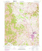 Download a high-resolution, GPS-compatible USGS topo map for Lawrenceburg, KY (1979 edition)