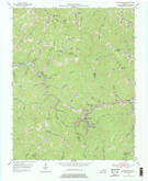 Download a high-resolution, GPS-compatible USGS topo map for Leatherwood, KY (1976 edition)