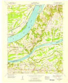 Download a high-resolution, GPS-compatible USGS topo map for Little Cypress, KY (1956 edition)