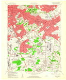 Download a high-resolution, GPS-compatible USGS topo map for Louisville East, KY (1961 edition)