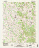 Download a high-resolution, GPS-compatible USGS topo map for Maretburg, KY (1996 edition)