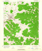 Download a high-resolution, GPS-compatible USGS topo map for Monticello, KY (1965 edition)