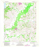 Download a high-resolution, GPS-compatible USGS topo map for Oakton, KY (1983 edition)