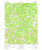 Download a high-resolution, GPS-compatible USGS topo map for Redbush, KY (1978 edition)