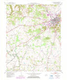 Download a high-resolution, GPS-compatible USGS topo map for Russellville, KY (1984 edition)
