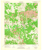 Download a high-resolution, GPS-compatible USGS topo map for Saint Charles, KY (1964 edition)